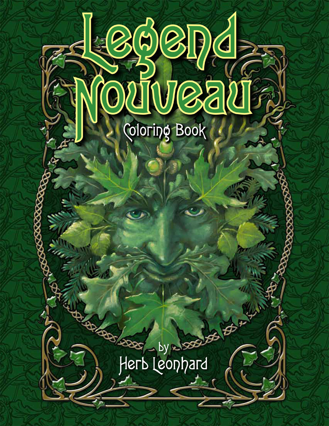 Legend Nouveau Coloring Book