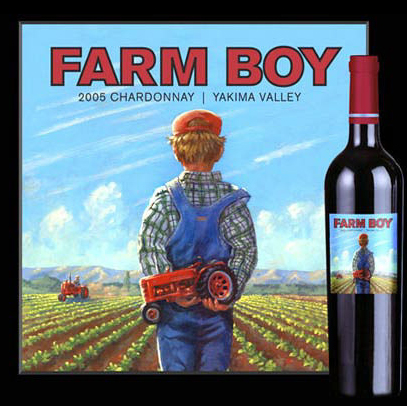 Farm Boy Wine Label